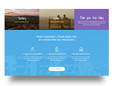 Travel Website colorful visual design ux ui website travel