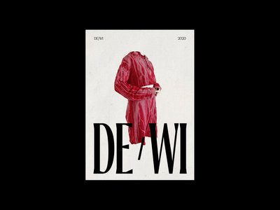 DE/WI, Poster typeface contemporary layout design fonts brand fashion font type layout composition illustration logo branding photography editorial ui art direction art typography design
