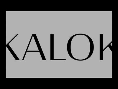 Kalok, Portfolio branding logo fonts grey projects minimal motion design motion portfolio animation website editorial art direction art ux typography ui design