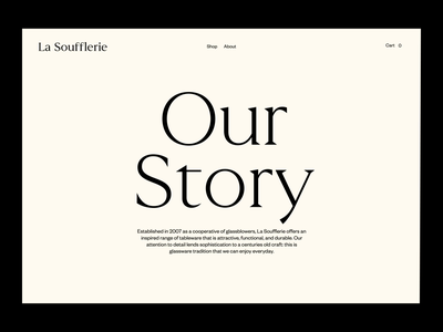 La Soufflerie - Story Gallery Animation scale scroll page layout soufflerie imagery site motion design motion gallery story magazine animation photography website art direction art ux typography ui design
