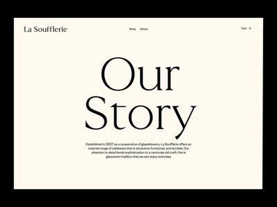 La Soufflerie - Story Gallery Animation