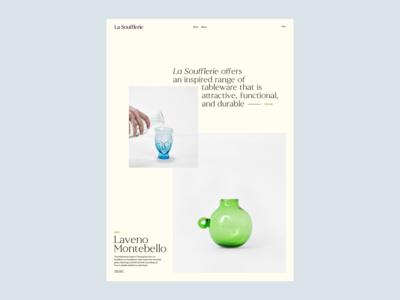 La Soufflerie, Layouts