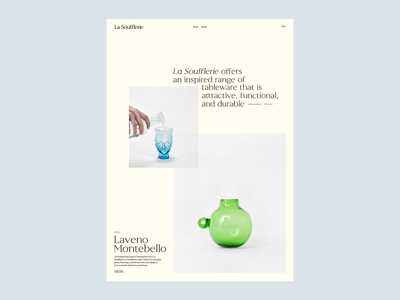 La Soufflerie, Layouts promo layout minimal minimal design composition whitespace pages type imagery site magazine photography editorial website art direction art ux typography ui design