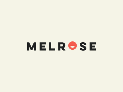 Melrose psychology logotype smile animation brand illustrator logo