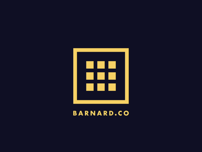 Barnard.co Rebrand brand branding animation illustrator logo