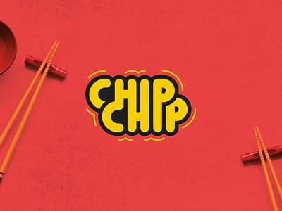 Chip Chip kawaii branding illustrator brand logo
