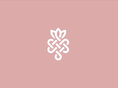 KARMR Logo Animation organic endless knot karma illustrator branding animation brand logo