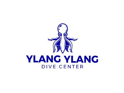 Ylang Ylang tentacle octopus logo octopus