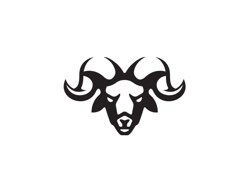 Ram logo animal rabbit logo horns animal ram logo ram