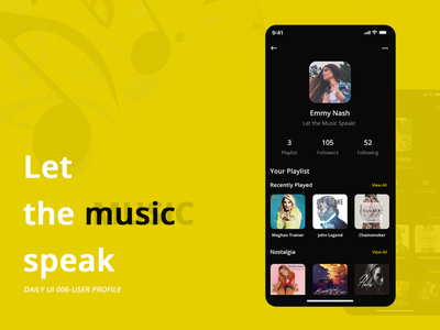 User Profile profile design design profile ui app uxdesign uiuxdesign