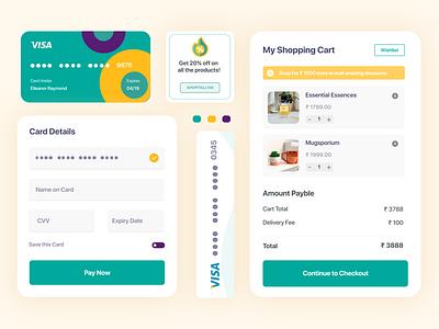 Design Component for Shopping App component design app uxdesign ui uiuxdesign