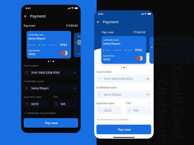 Credit Card Checkout checkout credit card checkout uxdesign uiuxdesign ui app