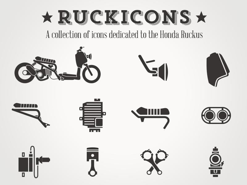 Ruckicons - Dedicated to the Honda Ruckus icons ruckus hipster