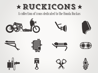 Ruckicons - Dedicated to the Honda Ruckus icons ruckus hipster