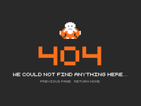 Zelda 404 page