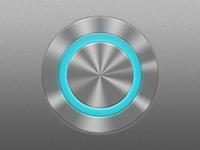 Circular LED Push Button