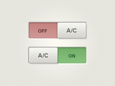 Square Toggles toggle radio ui button