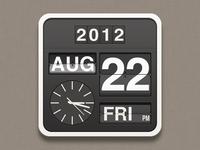 Flip clock Icon