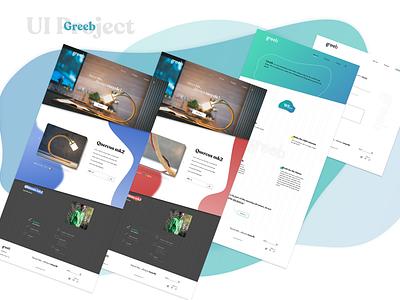 Quercus project uidesign uxdesign website ui creation redesign ux design