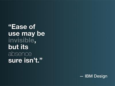 IBM Design leitmotiv gradient ibm design ibm service app mindset thinking uxdesign uidesign website creation ux design