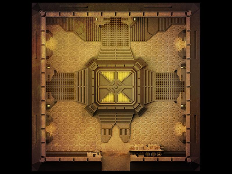 Board Tile 01 3d concept design games illustration