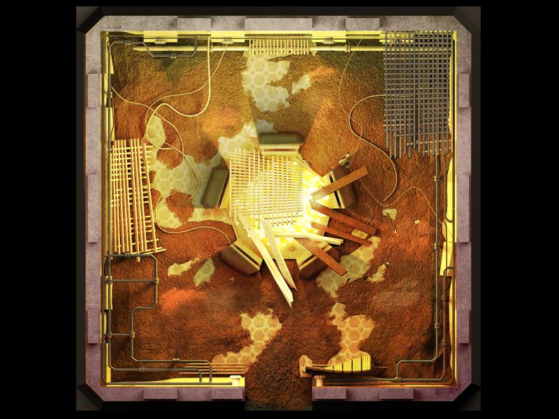 Board Tile 03 3d concept design games illustration