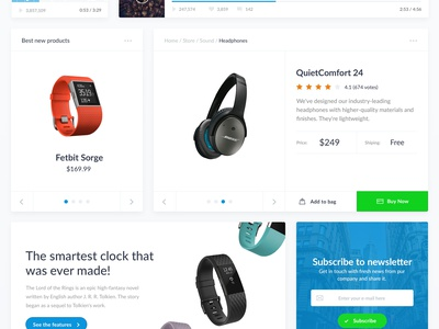 Free UI Kit shop shopping dashboard interface user free psd ui kit diagram play calendar