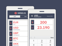 Gengi.is (Minimalist Currency Converter)