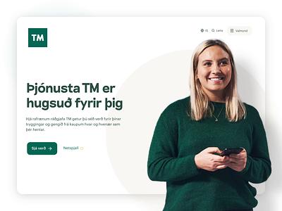 TM.is visual identity design system web ux ui