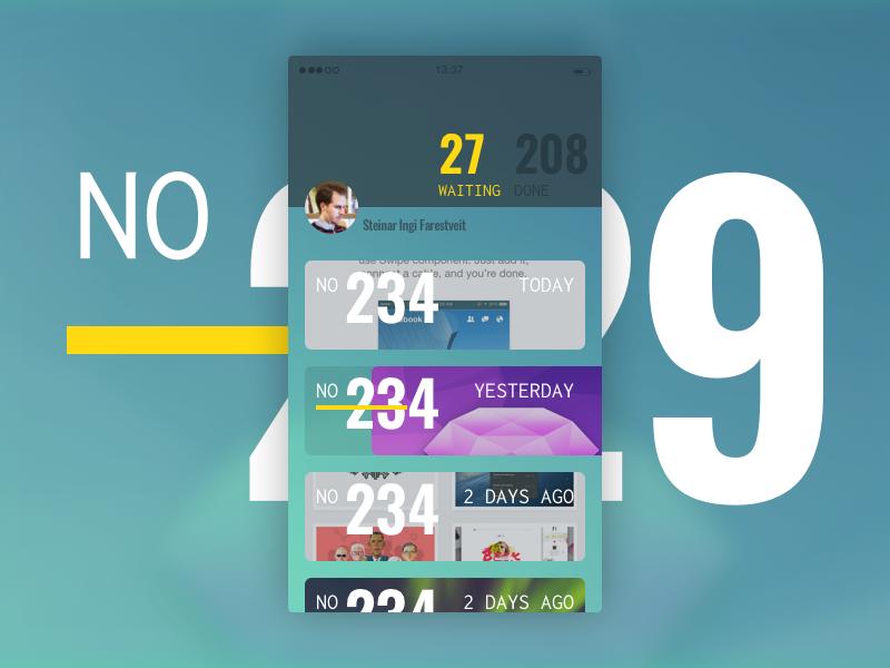 Upcoming app design ios ui ux app