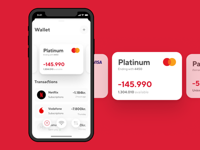 Wallet Exploration fintech banking credit card payments wallet