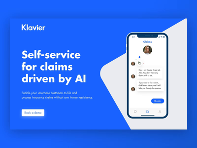 Klavier Website – Loading Animation typography motion minimal web ux ui