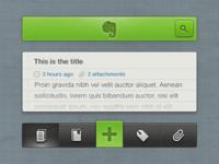 Evernote iOS Concept