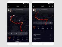 Activity Tracking App / UI Challenge — Week 09