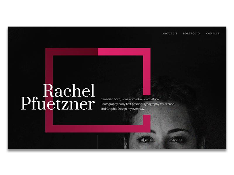 Portfolio sites black portfolio minimal graphic websites design colorful clean interactive web