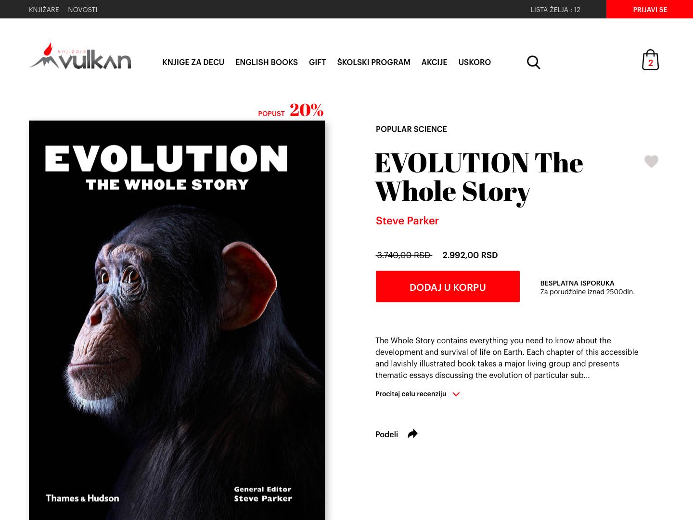 UI Challenge 002 - Book store product page book store digital ui clean design web desgin product page eshop