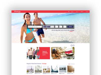Otel.com Home Page