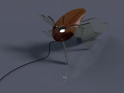 A wrong lamp concept