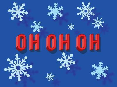 Christmas Icon Ohohoh