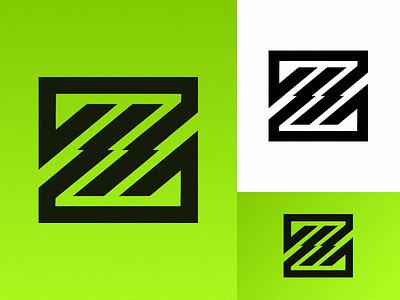 'Z' ui vector illustration design logomark logo identity branding art daily