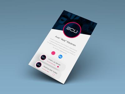 Daily UI - Social media