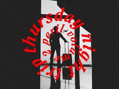 Peril DJ Set Cover soundcloud electronic music music set dj cover design cover art design typography