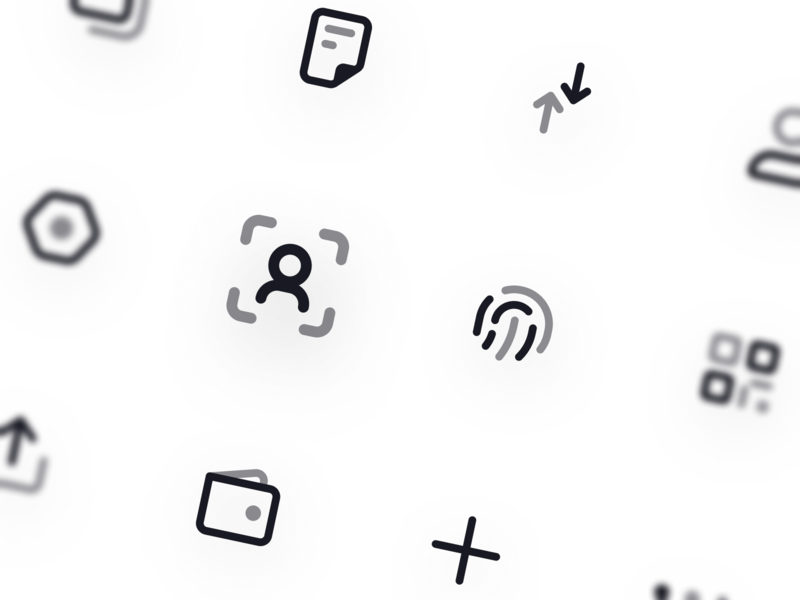 Duotone icons for new project solid outline glyph duotone symbols ui iconset 24px 20px icons