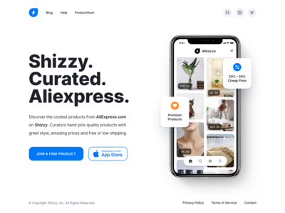 Shizzy Curated Aliexpress ui design app aliexpress curated shizzy ui