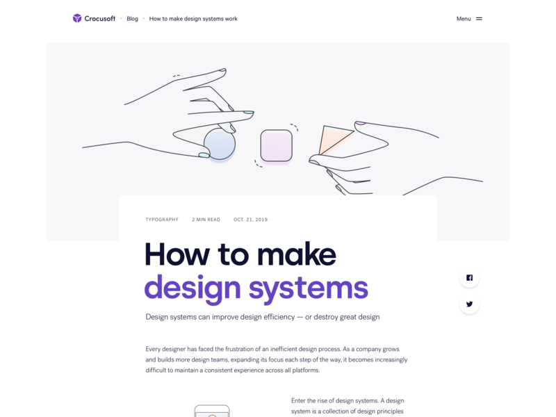 Blog uidesign texture sketch product minimal interface title typography web ui blog