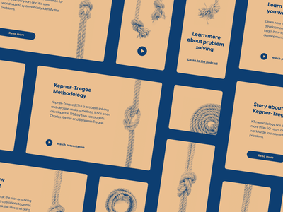 Kepner Tregoe - service concept layout ui knots problem solving