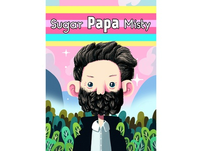 Sugar Papa Misty photoshop painting digital cover misty john father illustration