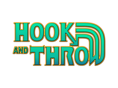Hook & Throw gwent witcher 3 norse viking game video fantasy clean throw hook logo