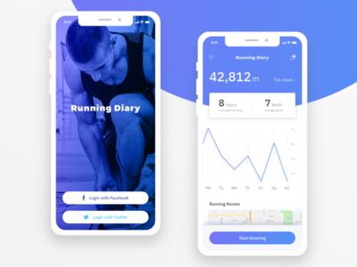 Running Diary App