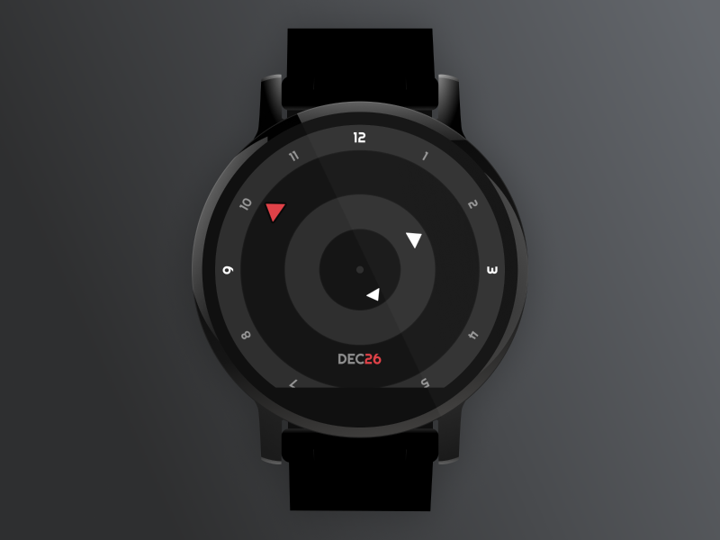 Amazfit Pace Watch Face Inspired by The Break Watch amazfit pace watch ui smart watch black red break watch amazfit watch face